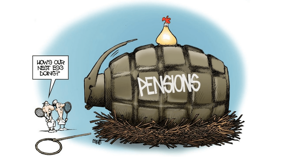 California's Pension Crisis Climbs to a Cliff