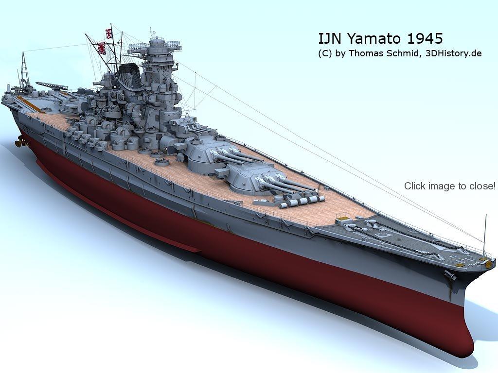 Yamato – Famed Japanese Battleship – The Details