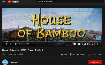 """Great Films – """"House of Bamboo"""" – on YouTube"""