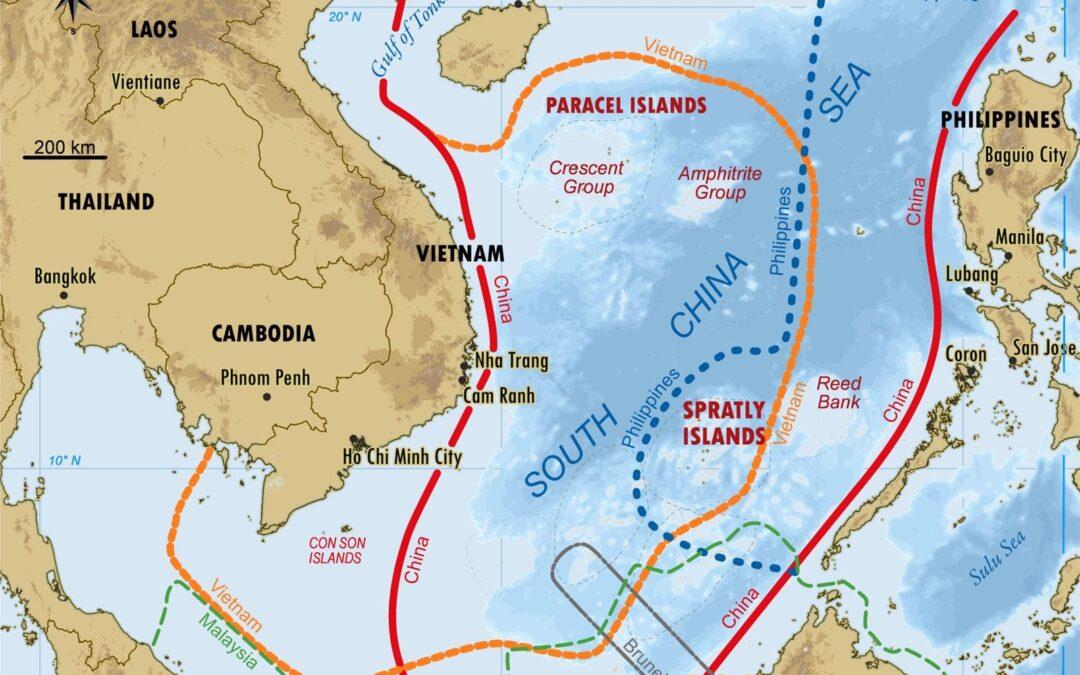 "China Claims South China Sea – Like My Novel ""Stealing Thunder"""